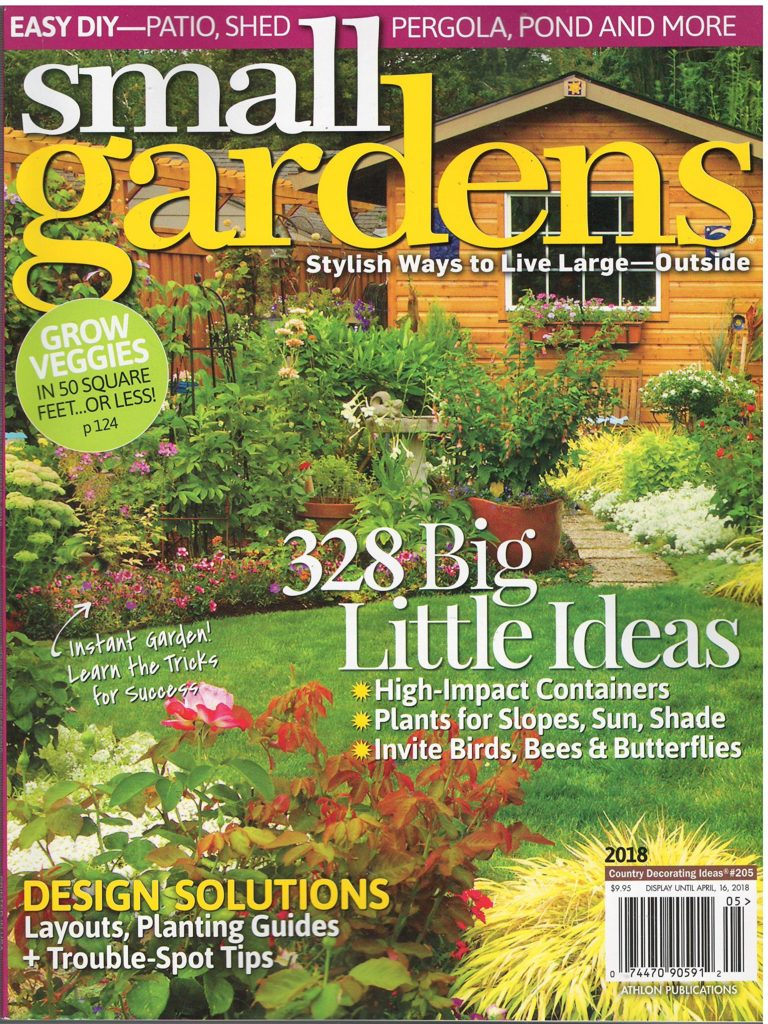small gardens magazine