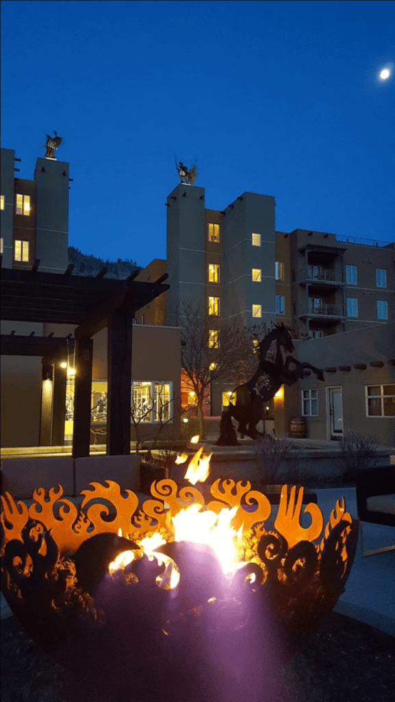 Great Bowl O' Fire at Spirit Ridge Vineyard Resort & Spa, Osoyoos, BC